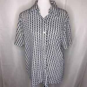 Lane Bryant Vintage Short Sleeve Blouse